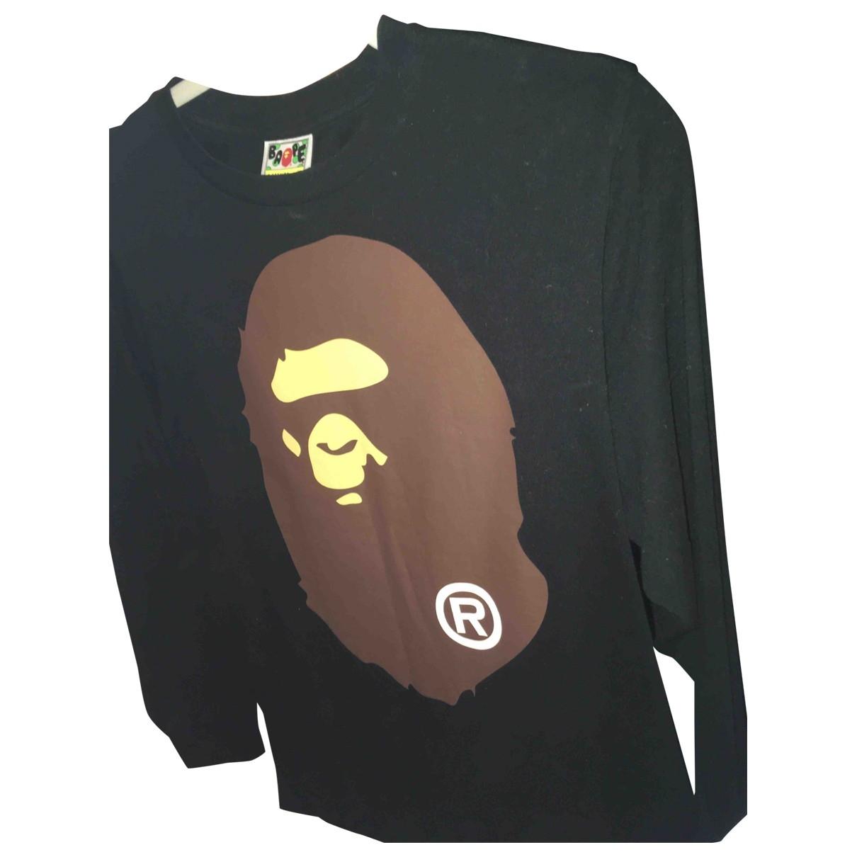 A Bathing Ape \N Black Cotton Knitwear & Sweatshirts for Men S International