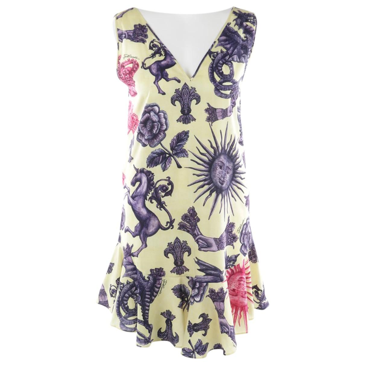 Just Cavalli N Yellow dress for Women 36 IT
