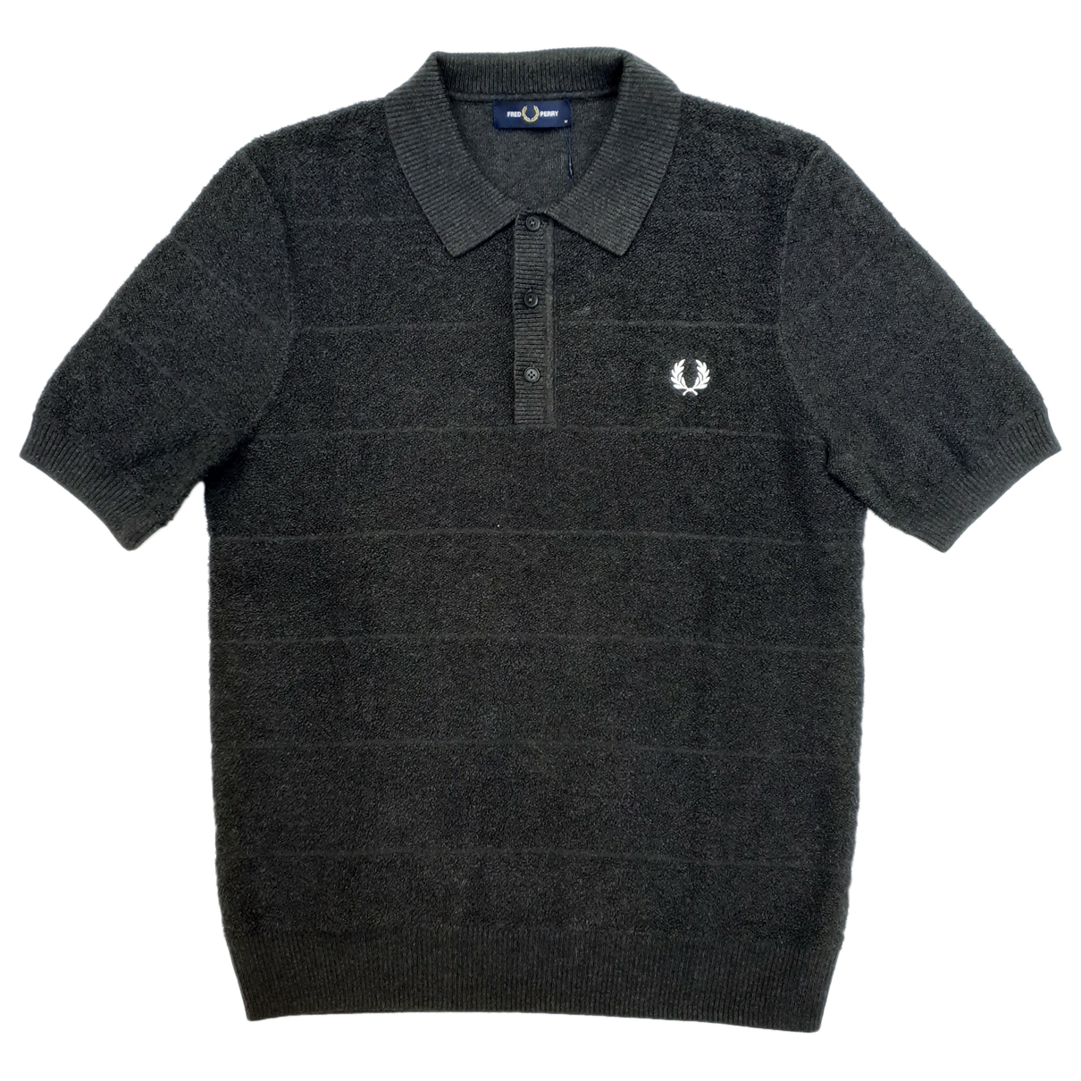Fred Perry - Polos   pour homme en coton - anthracite