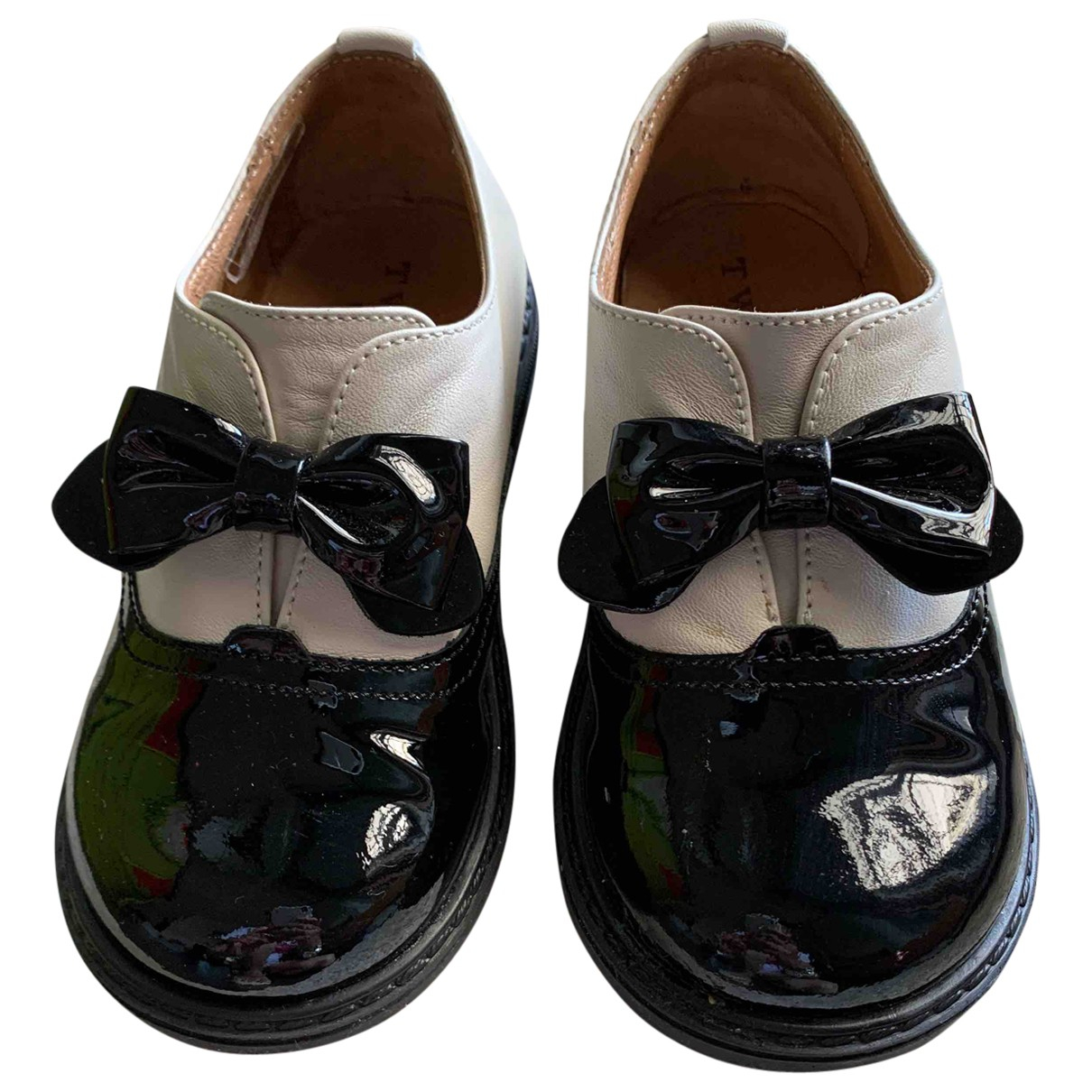 Twin Set \N Leather Flats for Kids 24 FR