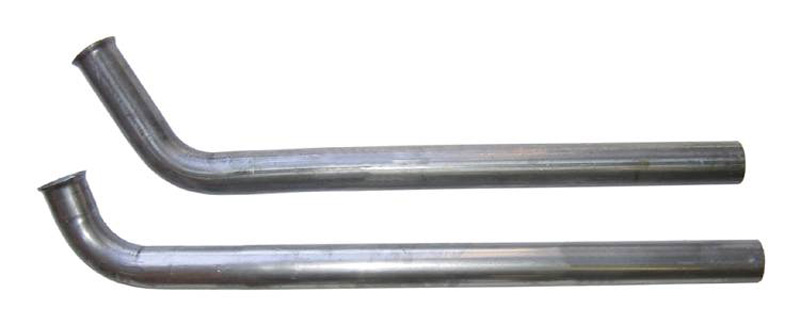 Pypes Exhaust DGB10S Exhaust Manifold Down Pipe 2.5-Inch 2-Bolt Stainless Steel