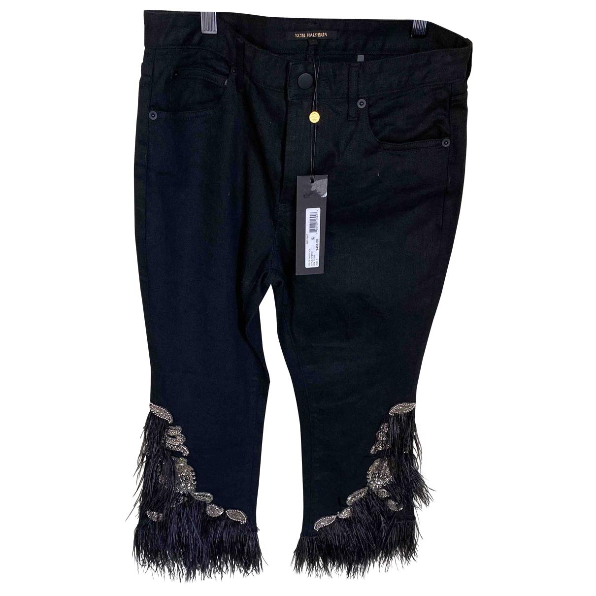 Kobi Halperin \N Blue Denim - Jeans Jeans for Women 38 FR