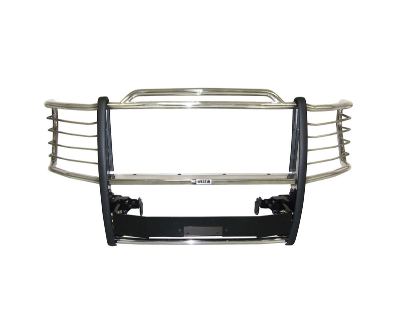 Westin Automotive 45-92370 Sportsman Winch Mount Grille Guard Stainless Steel Ford F-350 Super Duty 11-14