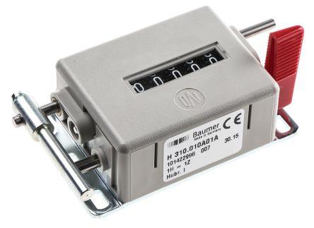Baumer Mechanical Counter  H 310.010A01A, Stroke 5 digits
