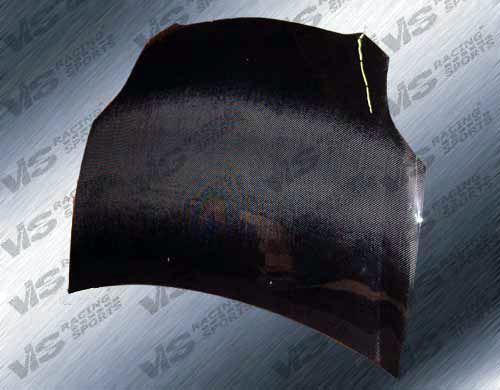 VIS Racing 06MTECL2DOE-010C Carbon Fiber OEM Hood Mitsubishi Eclipse 4G 06-08