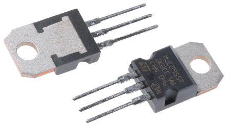 STMicroelectronics MJE2955T PNP Transistor, 10 A, 60 V, 3-Pin TO-220 (5)