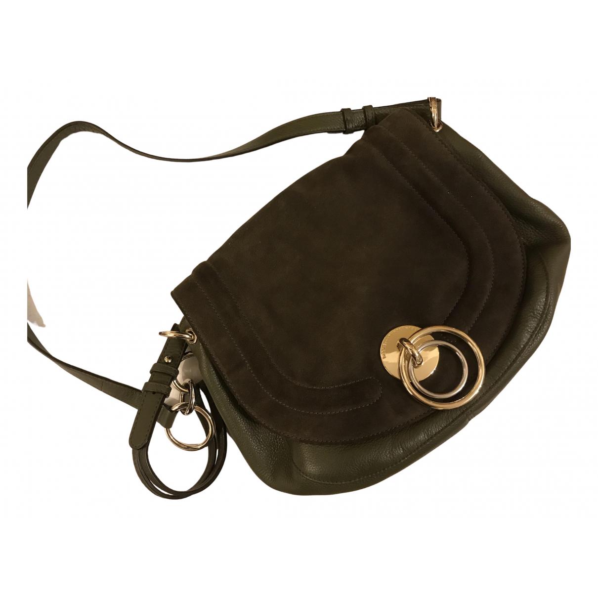 Diane Von Furstenberg N Green Leather handbag for Women N