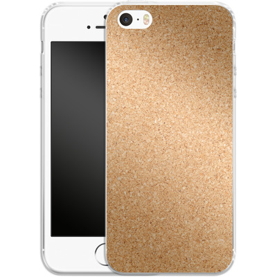 Apple iPhone SE Silikon Handyhuelle - Cork von caseable Designs
