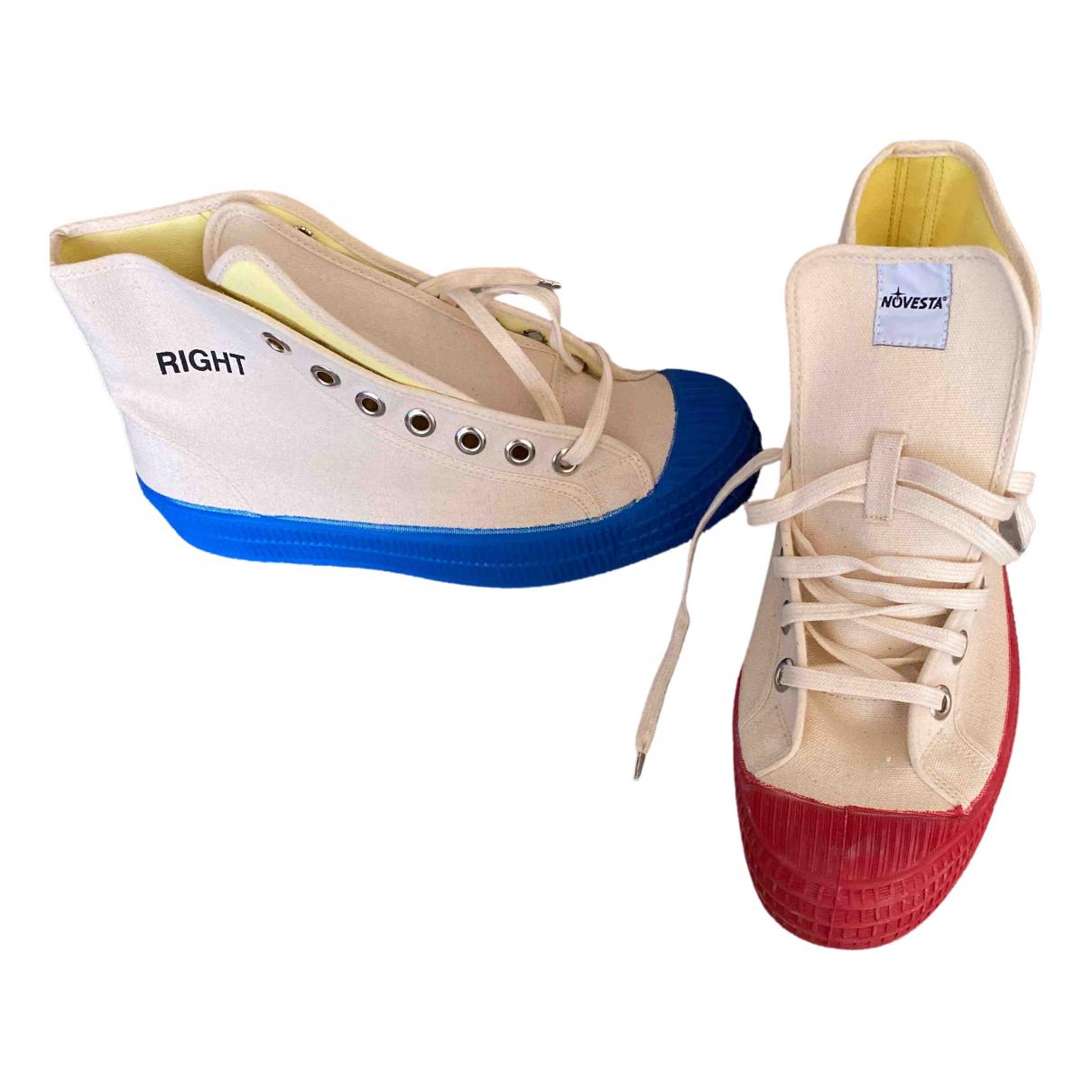 Bobo Choses \N Sneakers in  Ecru Leinen