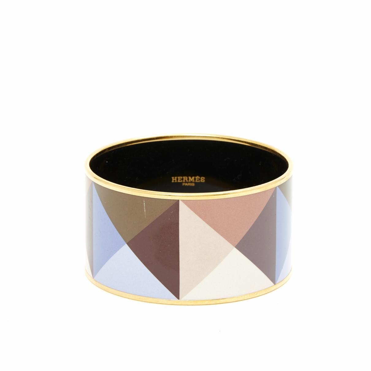 Hermès Bracelet Email Gold Metal bracelet for Women \N