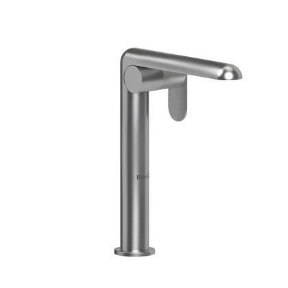 Ciclo CIL01KNBC-05 Single Hole Lavatory Faucet with Knurled Textured Handle 0.5 GPM  in Brushed