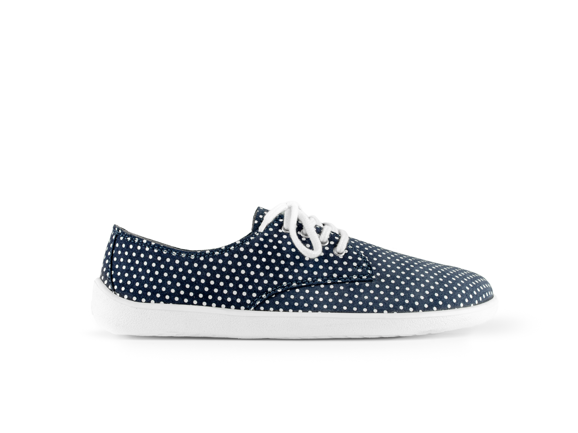 Barefoot Shoes - Be Lenka City - Dark Blue with White Dots 39