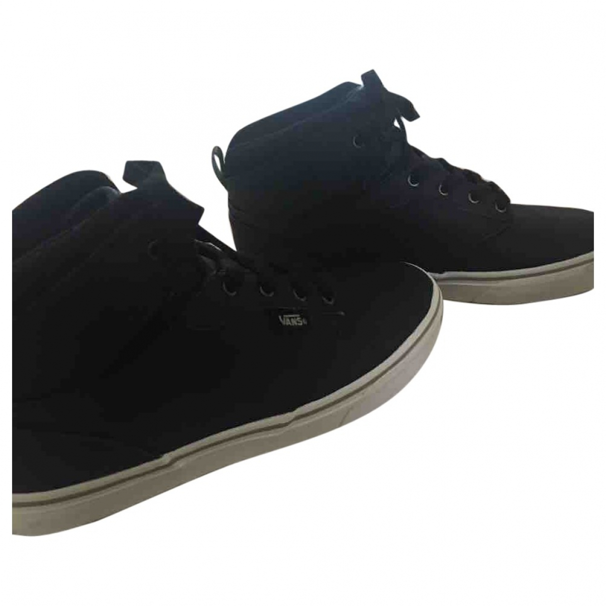 Vans \N Black Leather Trainers for Women 38 EU
