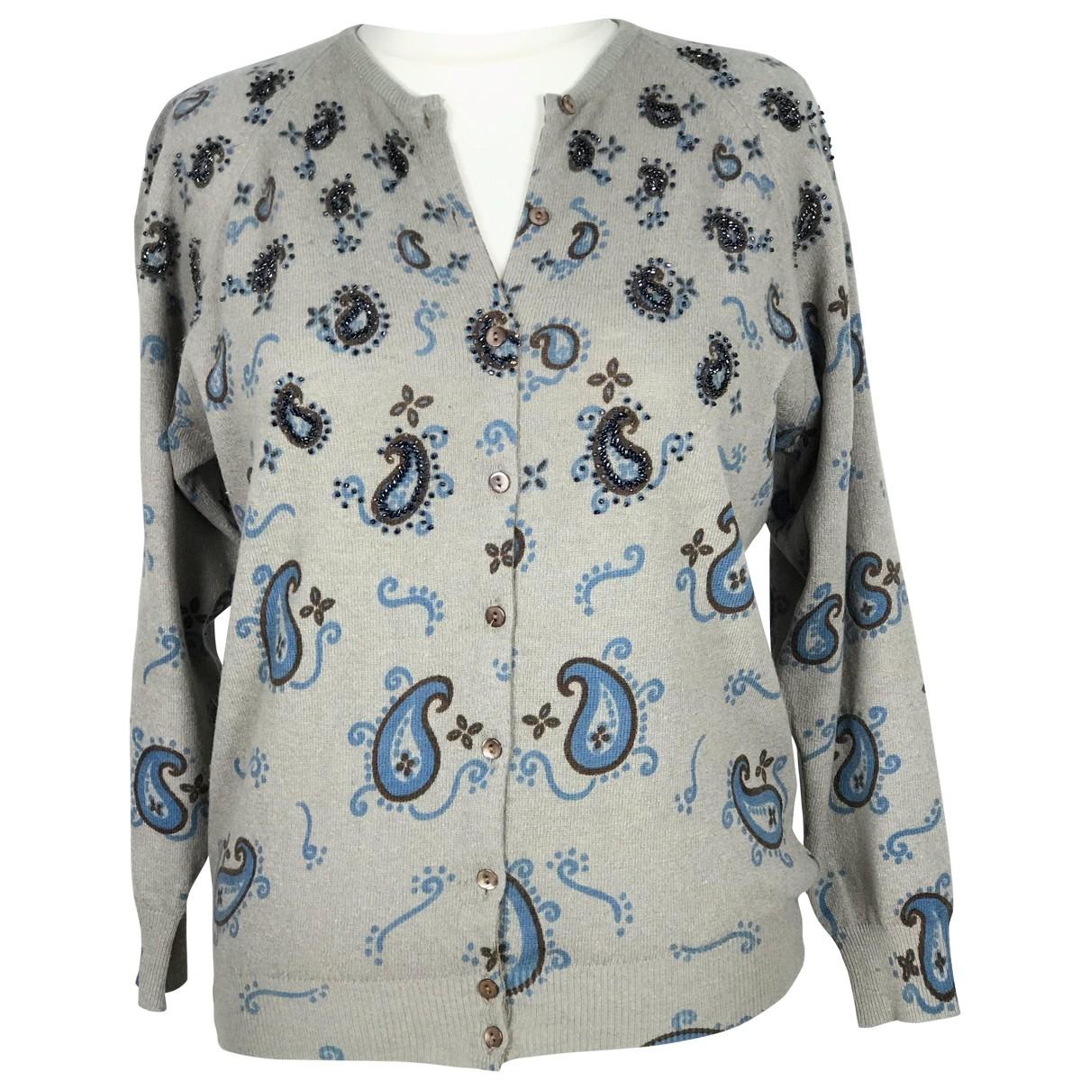 Blumarine - Pull   pour femme en laine - multicolore