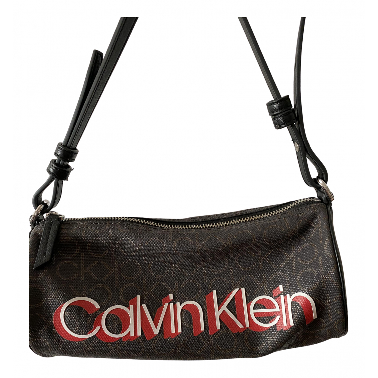 Calvin Klein N Brown Cloth handbag for Women N