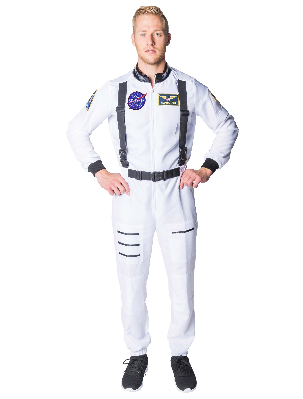 Herren-Kostuem Astronaut Herren weiss Grosse: 58