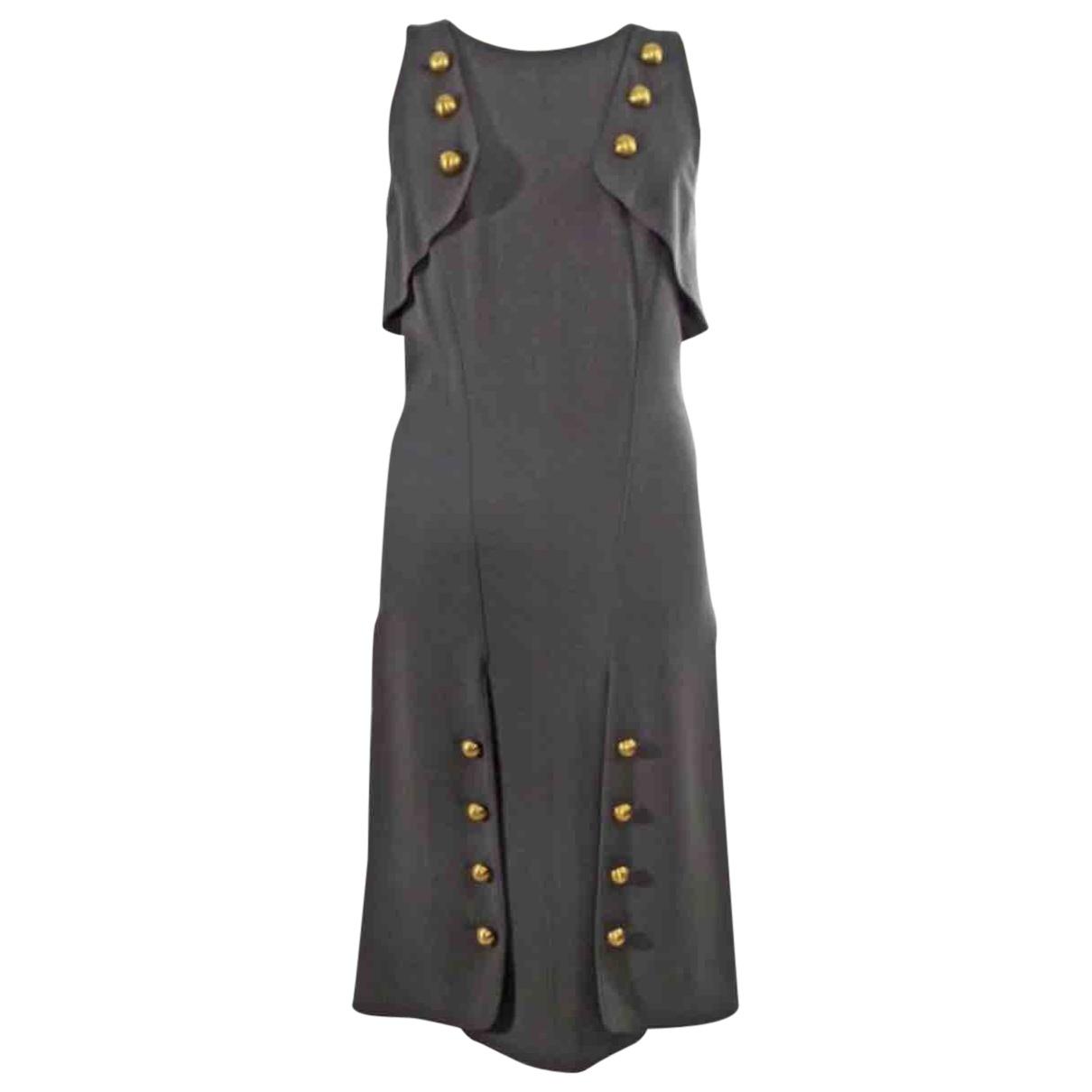 Fendi \N Grey Wool dress for Women 42 IT