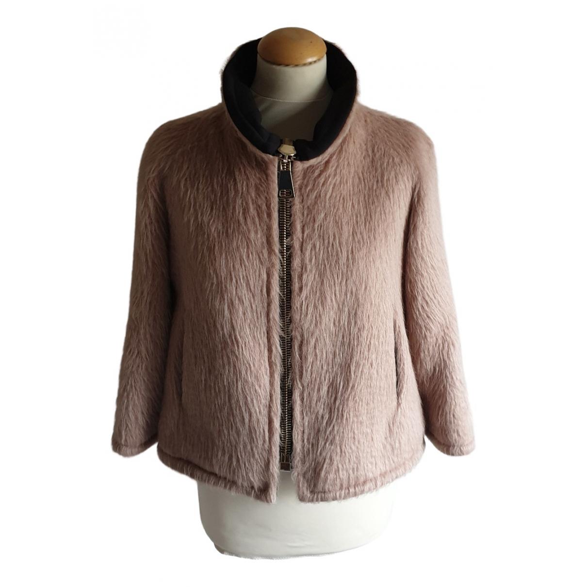 Annie P N Beige Wool jacket for Women 40 IT