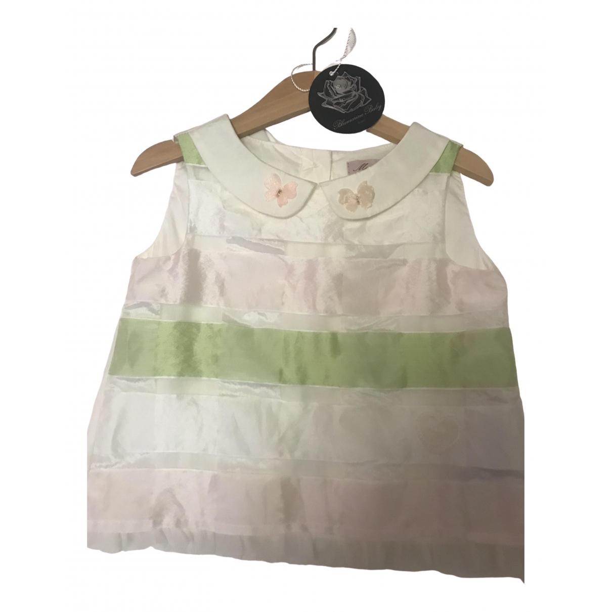 Blumarine - Top   pour enfant en autre - blanc