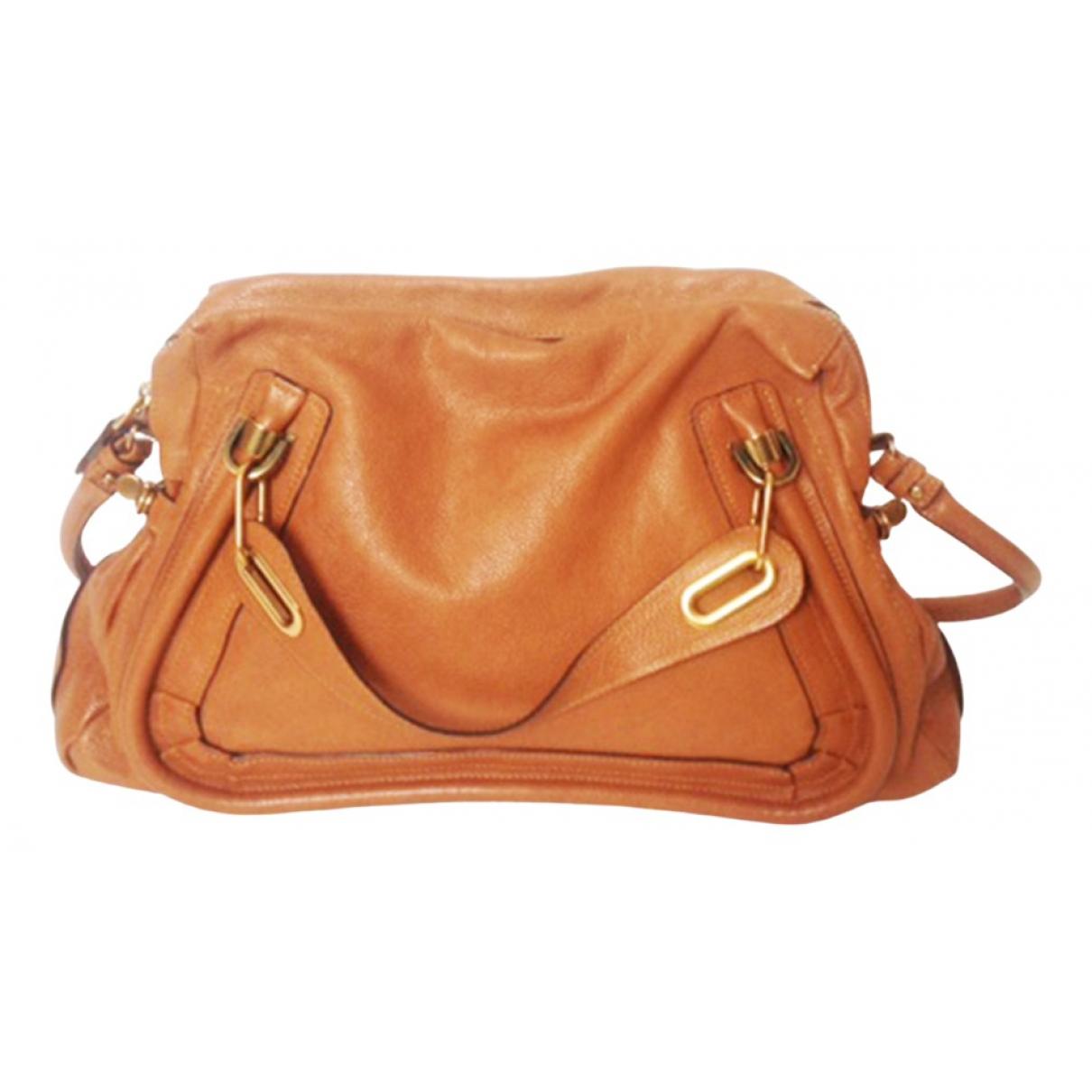 Chloé Paraty Brown Leather handbag for Women N