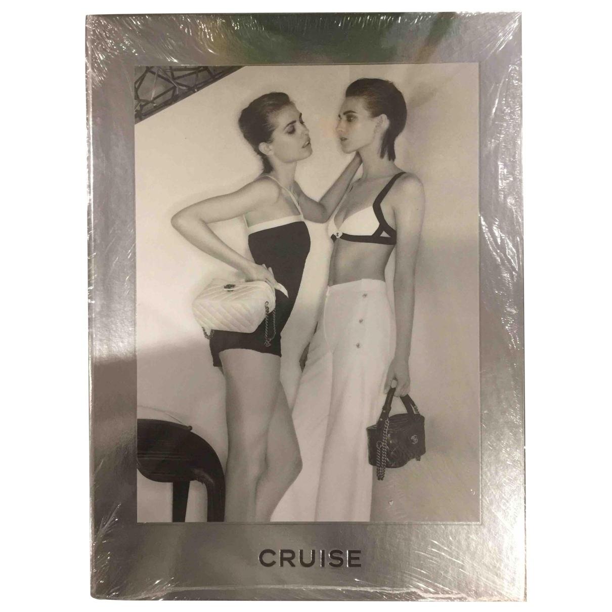Chanel \N Fotografie in  Silber Baumwolle