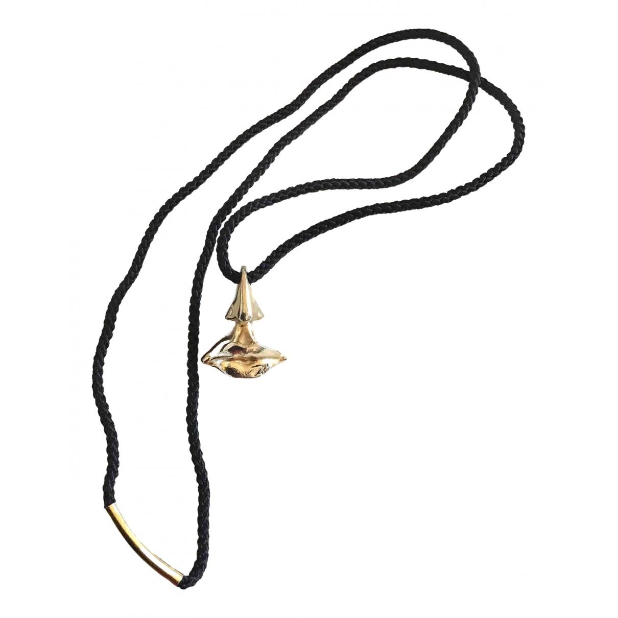 Salvador Dali \N Anhaenger in  Gold Vergoldet