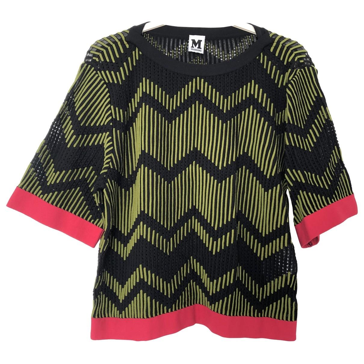 M Missoni \N Green Cotton  top for Women M