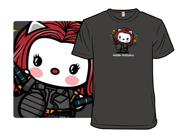 Hello Natasha T Shirt