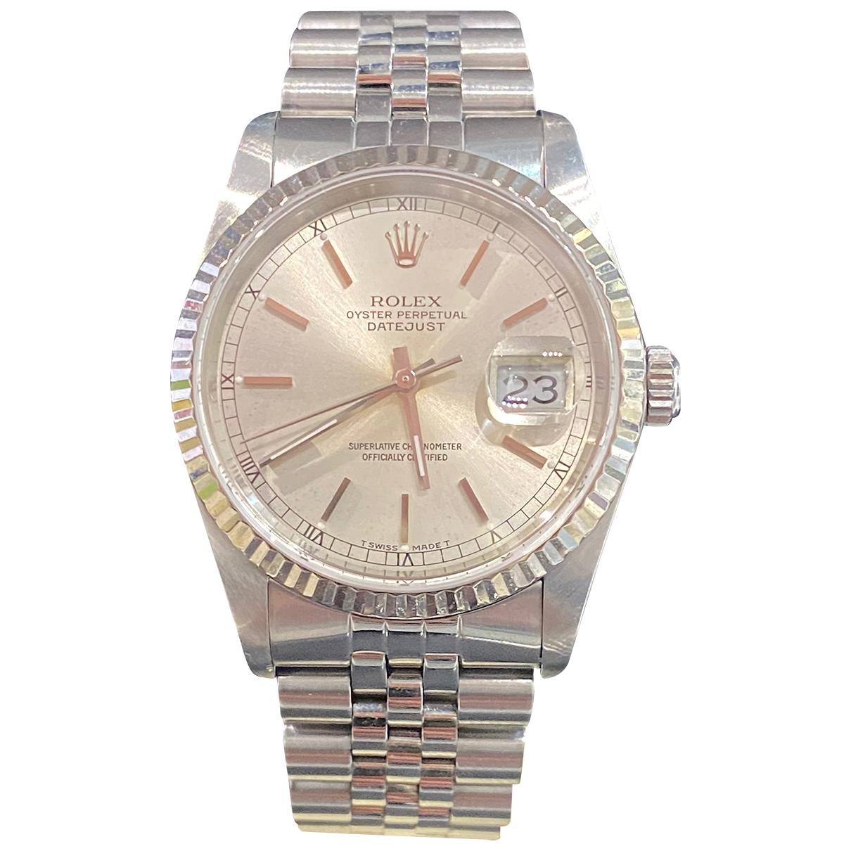 Rolex Datejust 36mm Uhr in Stahl