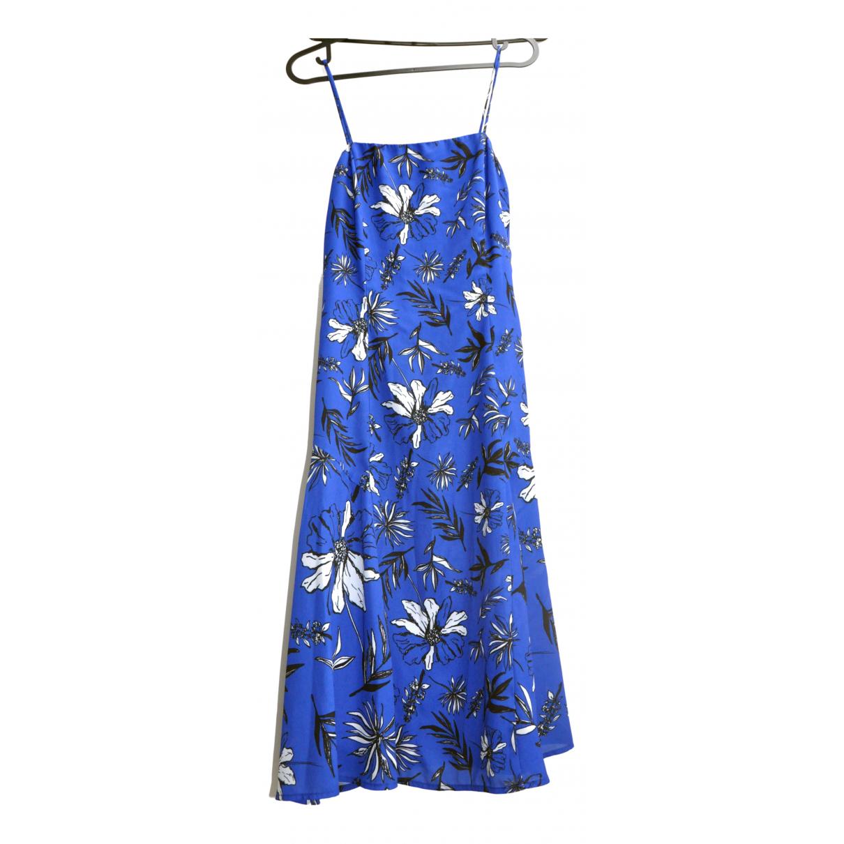 - Robe Hippie Chic pour femme - bleu