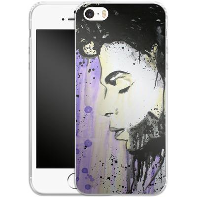 Apple iPhone SE Silikon Handyhuelle - Prince von Federica Masini