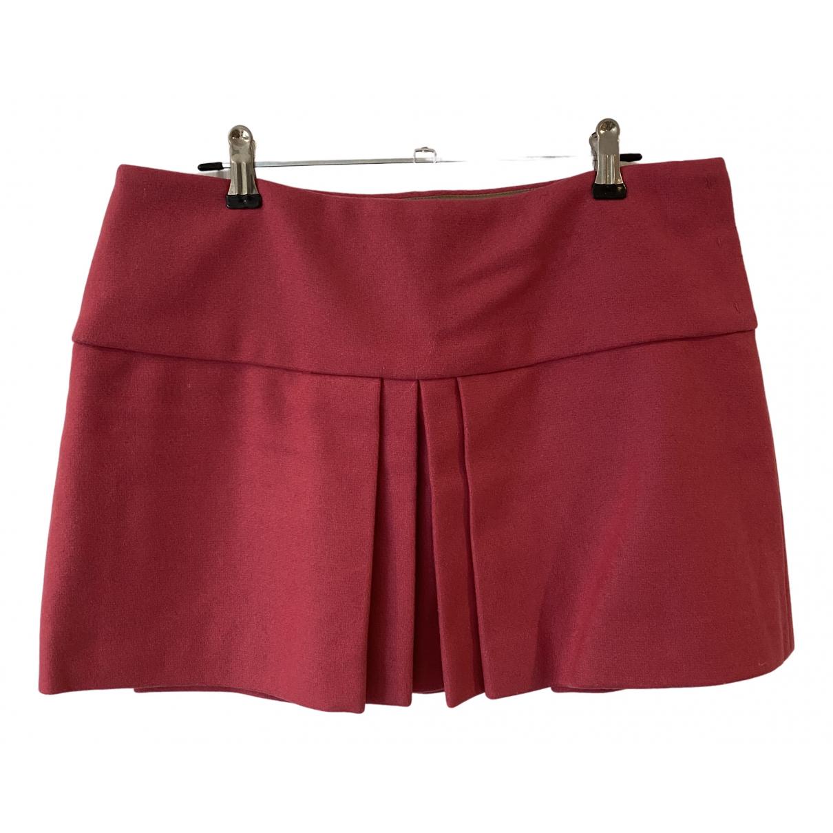 Mini falda de Lana Miu Miu