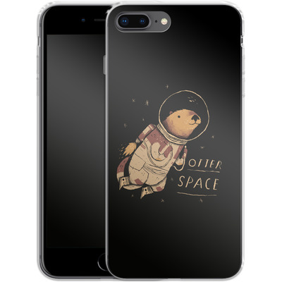 Apple iPhone 8 Plus Silikon Handyhuelle - Otter Space von Louis Ros