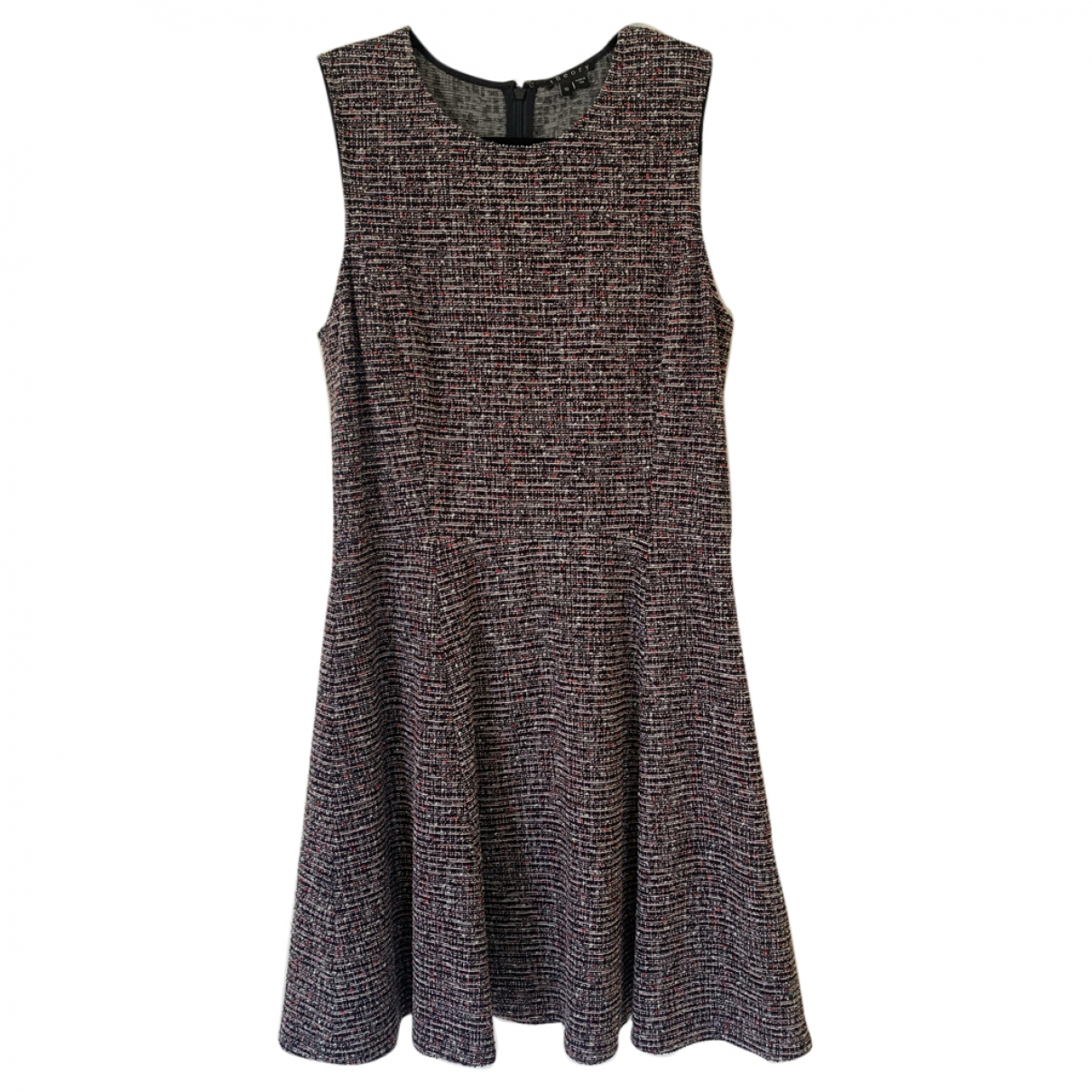 Theory - Robe   pour femme en tweed - multicolore