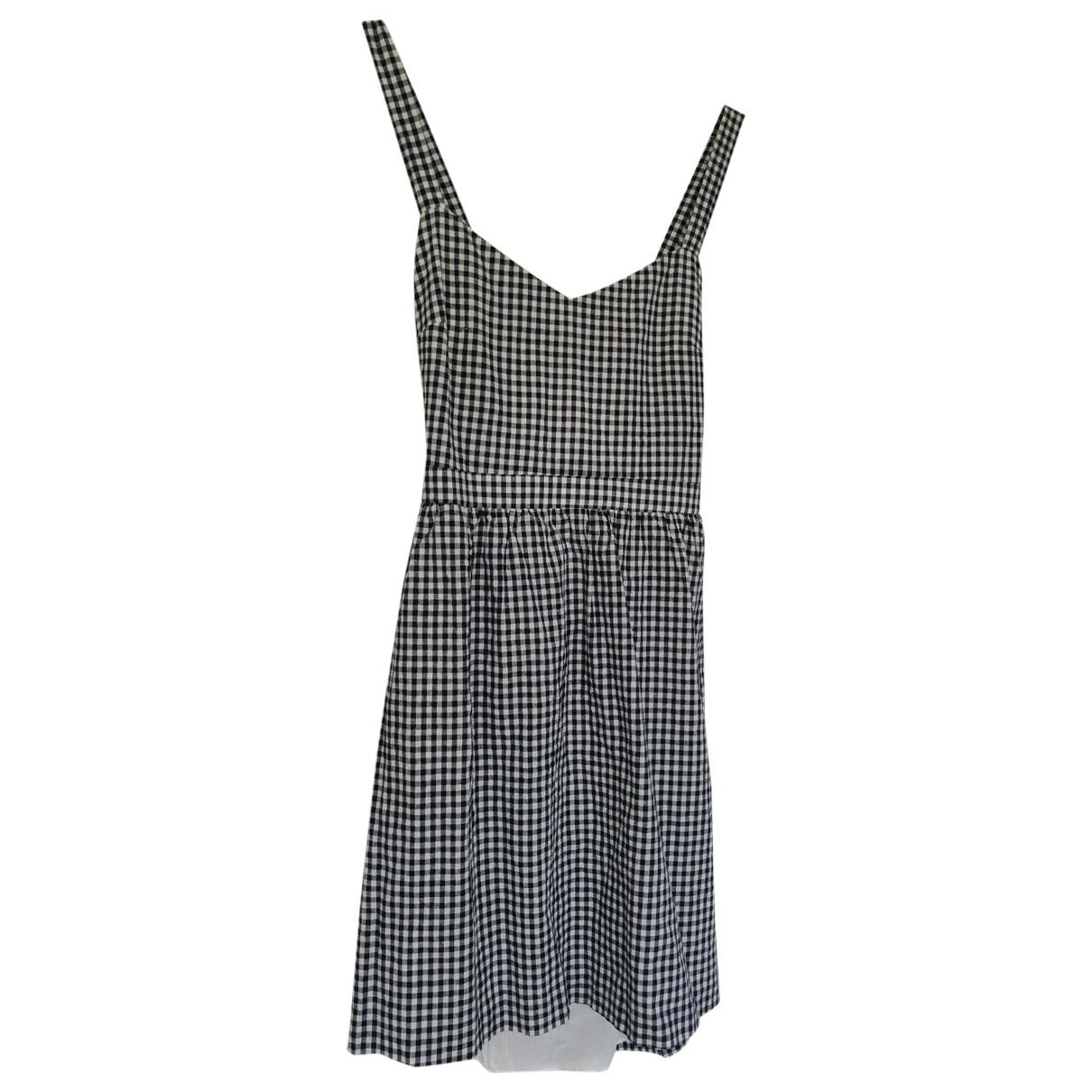 Sezane \N Kleid in  Blau Baumwolle