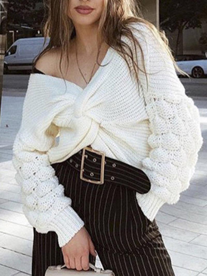 Ericdress Thin Winter Standard Sweater
