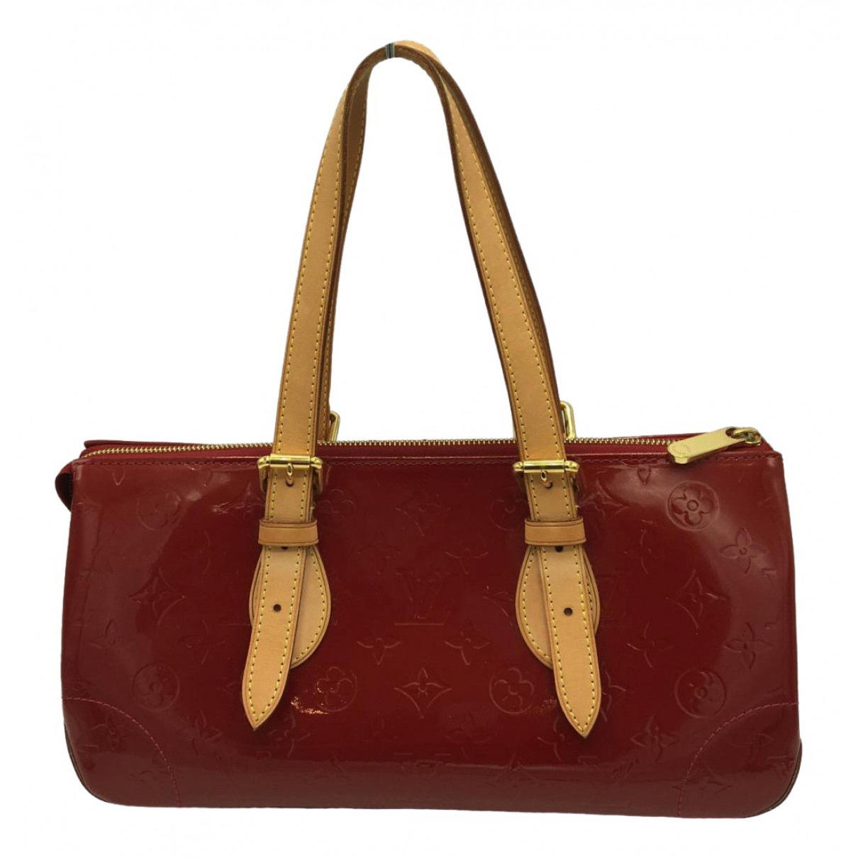 Louis Vuitton Rosewood Burgundy Patent leather handbag for Women \N