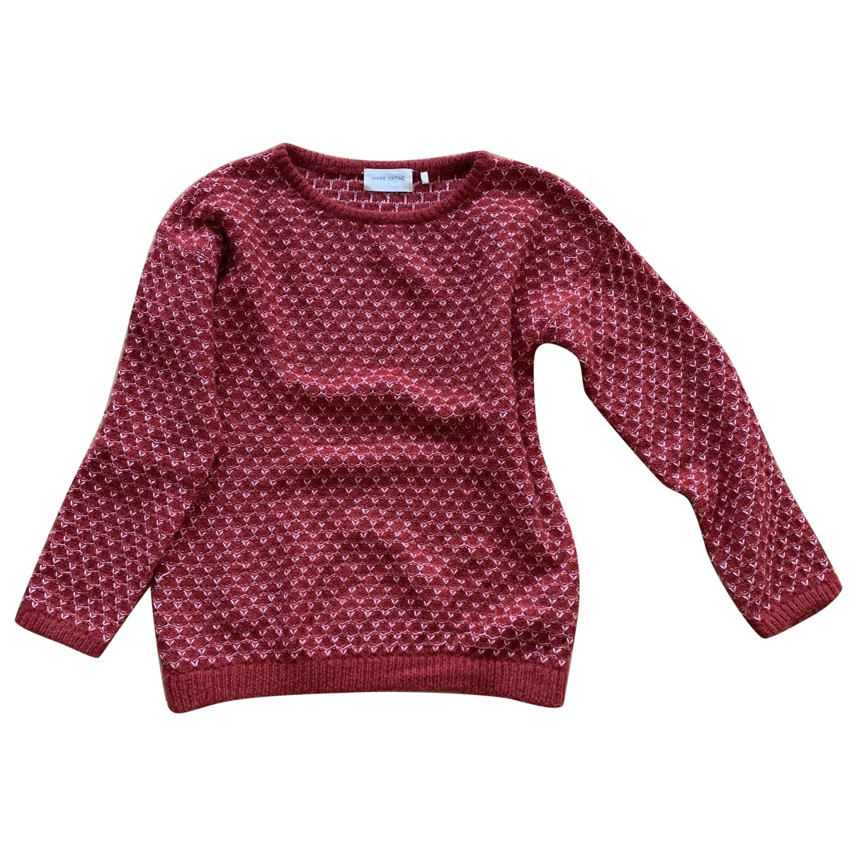 Marie Sixtine \N Pullover in  Rot Wolle