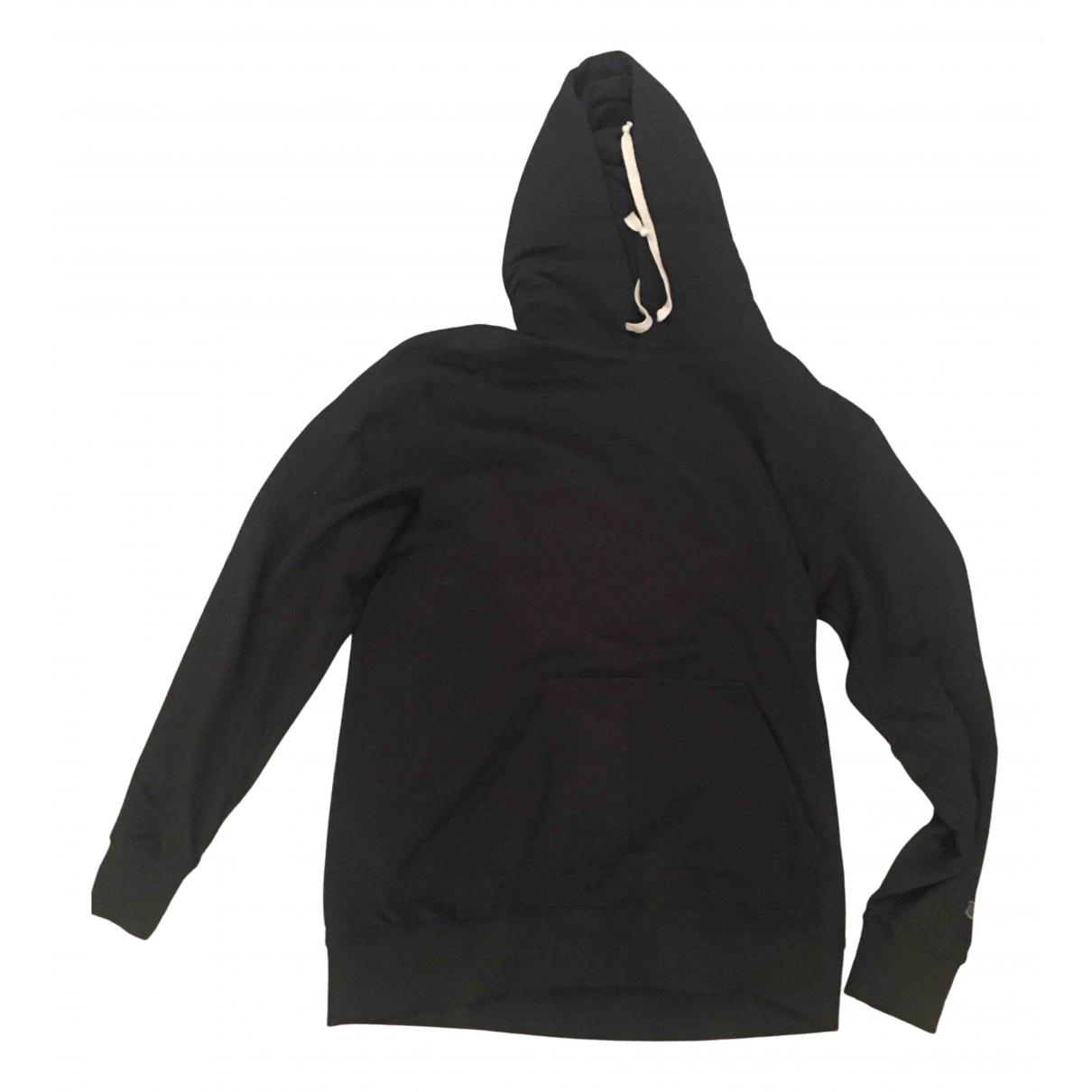 Rick Owens \N Pullover.Westen.Sweatshirts  in  Schwarz Baumwolle
