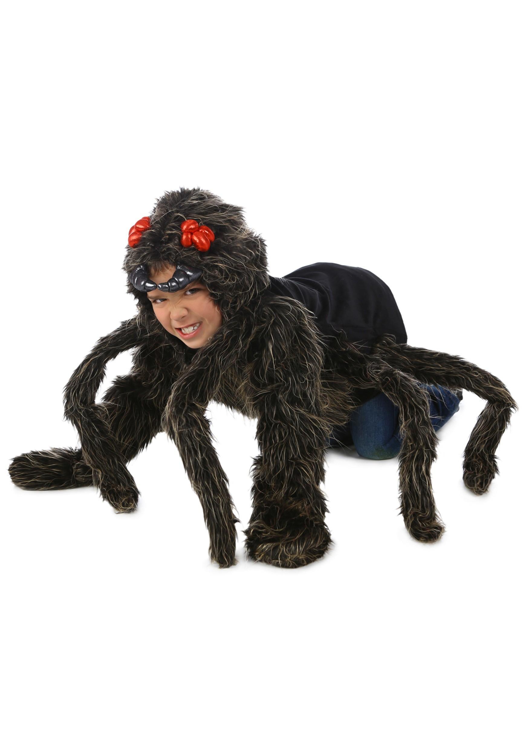 Tarantula Hoodie Costume for Kids