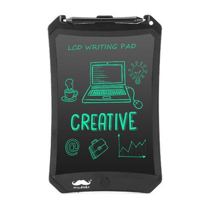Tablette d'écriture LCD, tableau de dessin et d'écriture magnétique portable électronique-Moustache® - 8.5 pouce