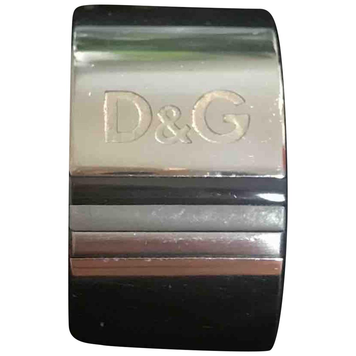 Dolce & Gabbana - Bague   pour femme en acier - argente