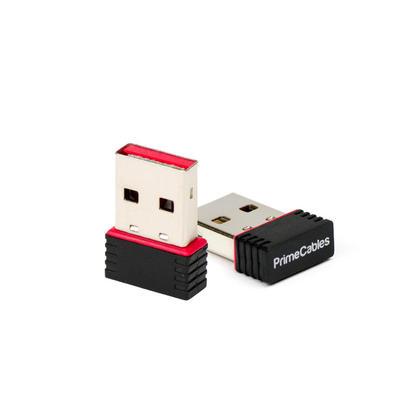 Adaptateur USB 802.11N sans fil 150 Mbps de taille nanométrique - PrimeCables® - 2/paquet