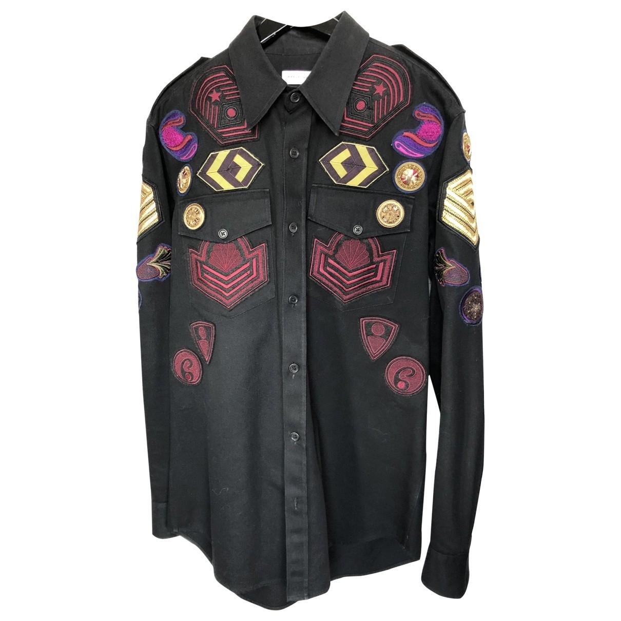 Dries Van Noten \N Black Cotton Shirts for Men M International