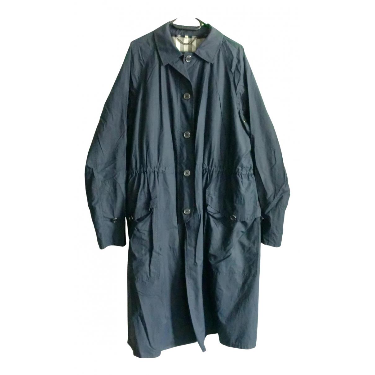 Burberry N Blue Cotton coat  for Men L International
