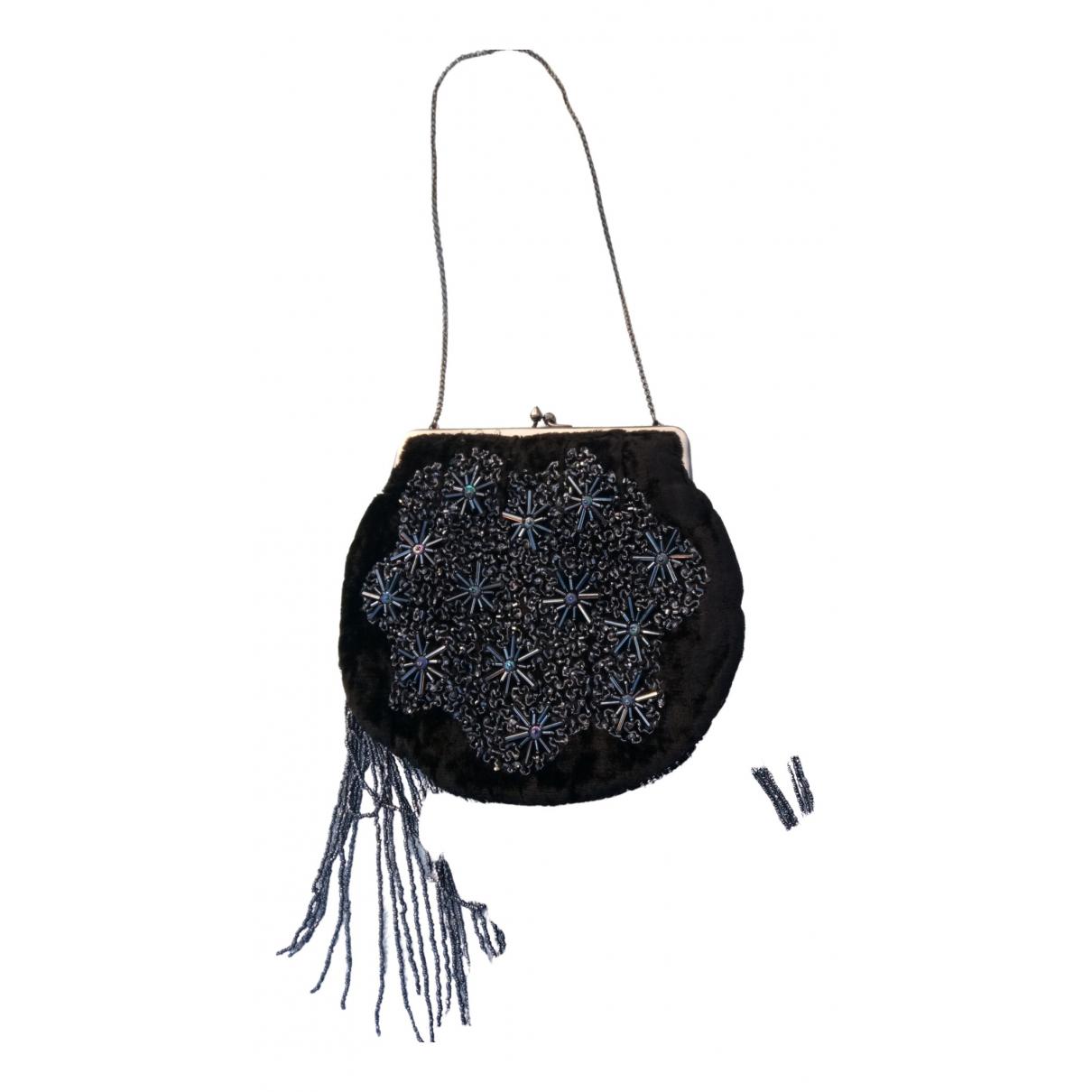 Antik Batik \N Black Velvet Clutch bag for Women \N