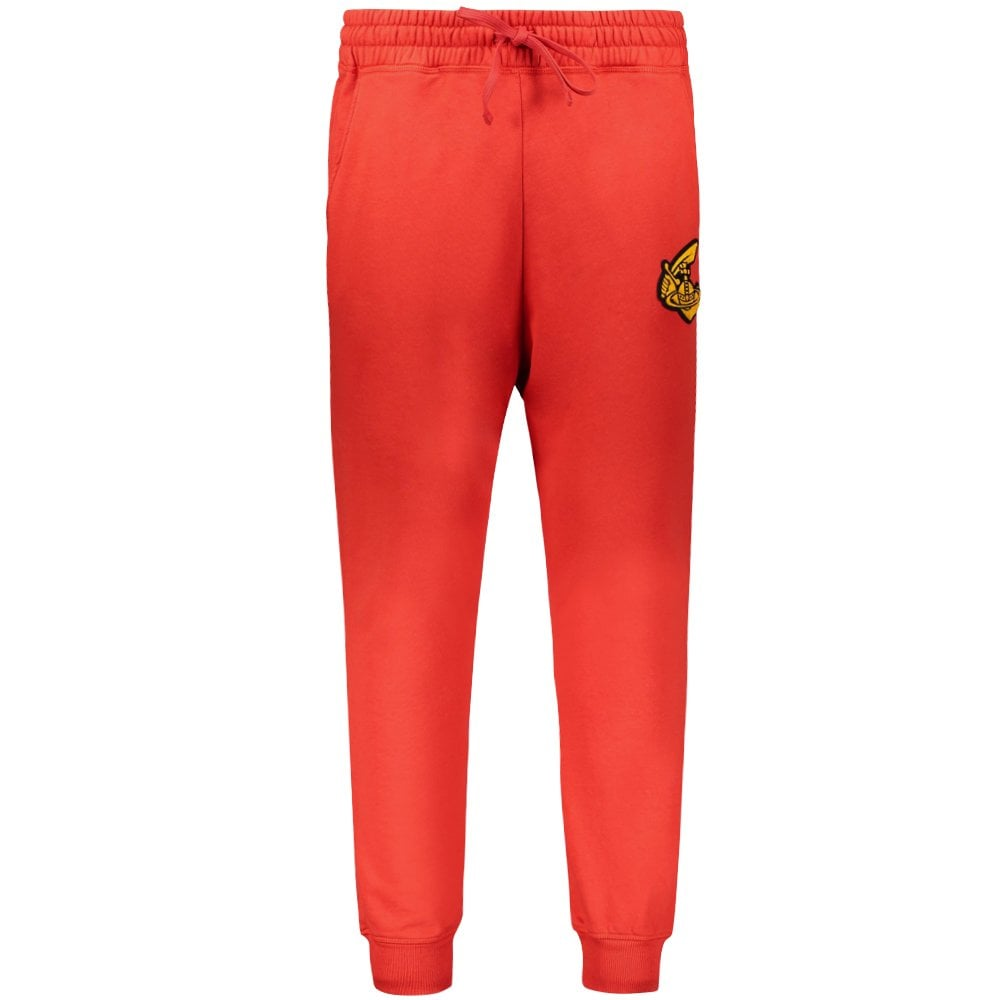 Vivienne Westwood Anglomania Classic Logo Sweat Pants Colour: RED, Size: MEDIUM