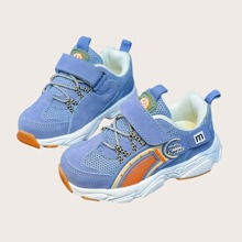 Toddler Girls Velcro Strap Mesh Sneakers