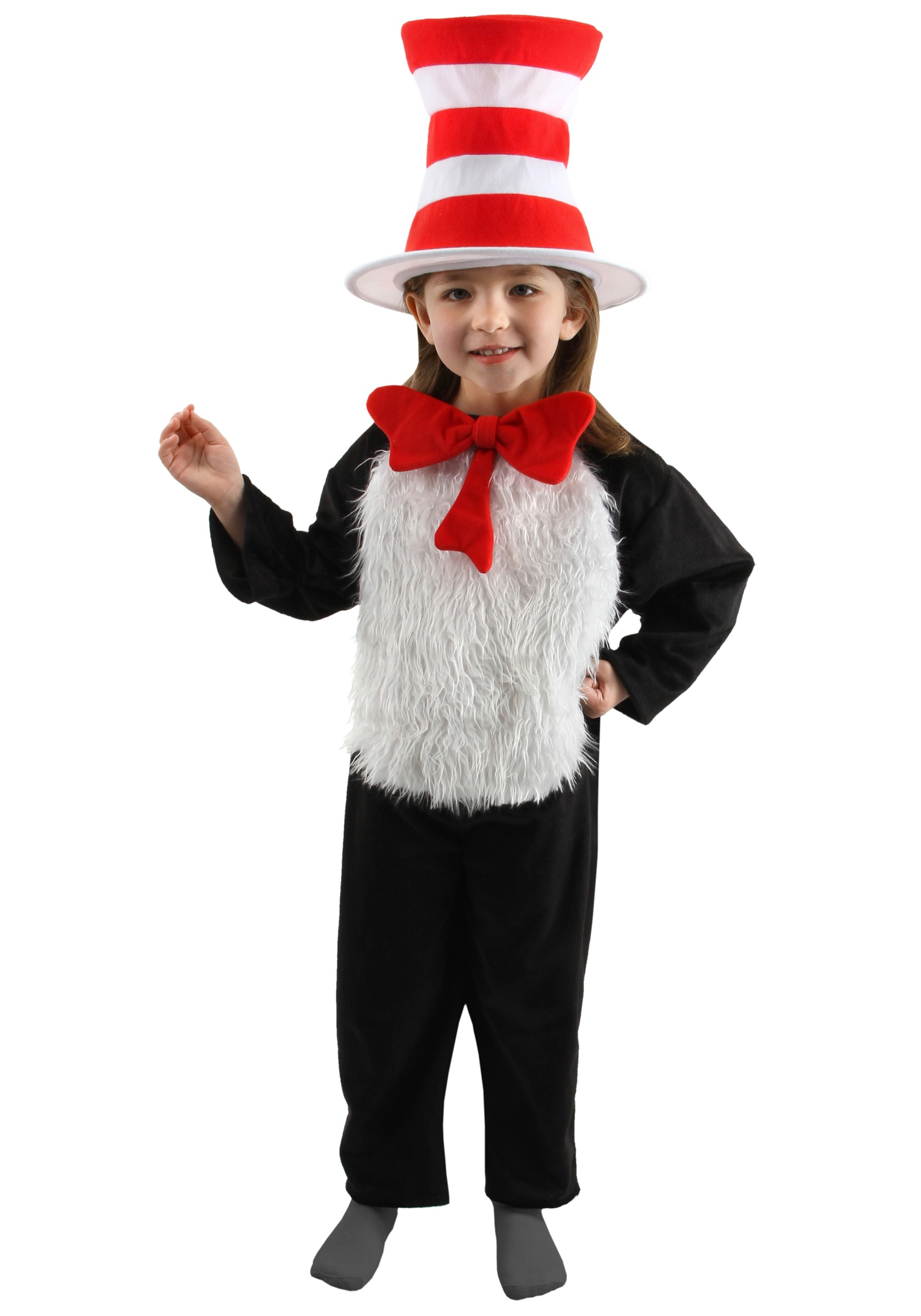 Deluxe Cat in the Hat Costume for Kids