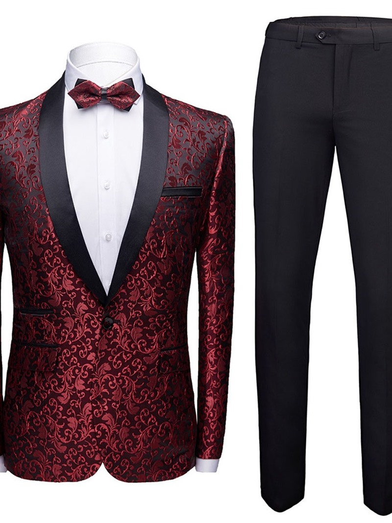 Ericdress One Button Fashion Mens Dress Suit